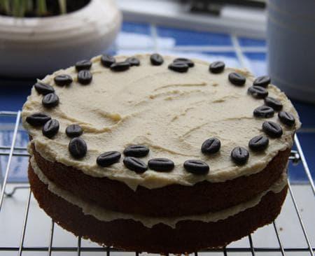 торта с пухкав крем от капучино