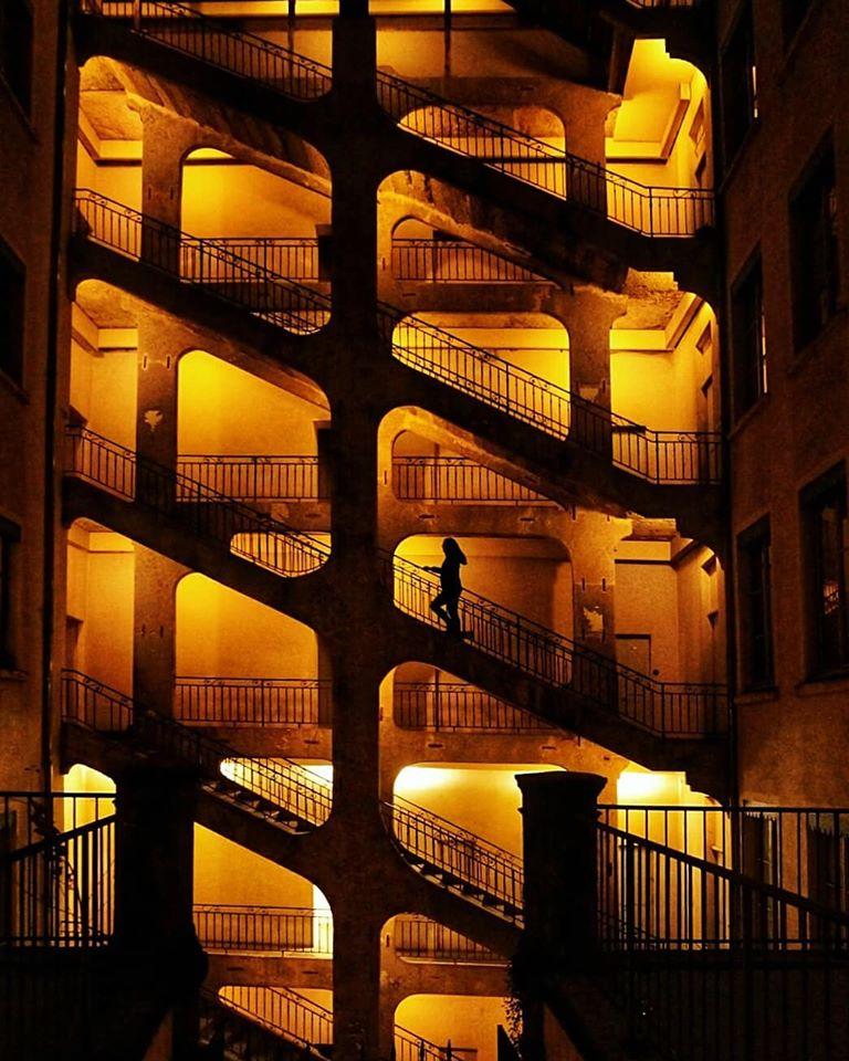 Трабула Cour des Voraces в Лион