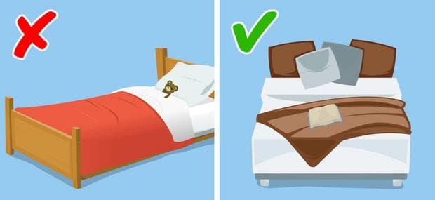 оправяне на легло
