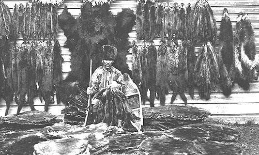 Шаман от племето Цимишани