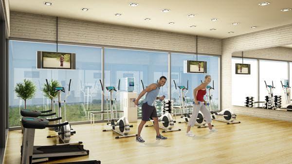 тренировка в зала