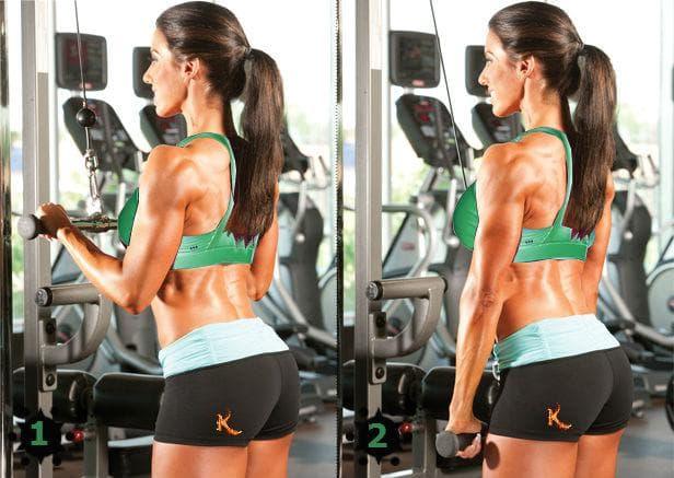 triceps-ekstenzii-na-goren-skripec