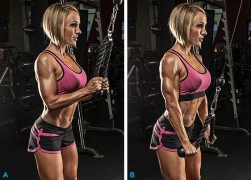 triceps-ekstenzii-s-vaje