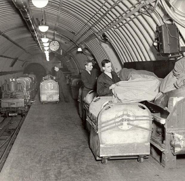 Тунели под Лондон