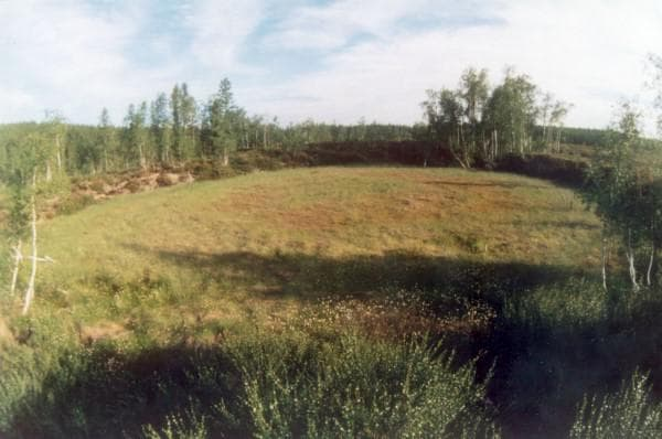 Районът на Тубгуския взрив днес