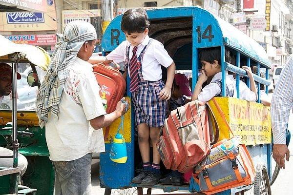 ученици в Делхи