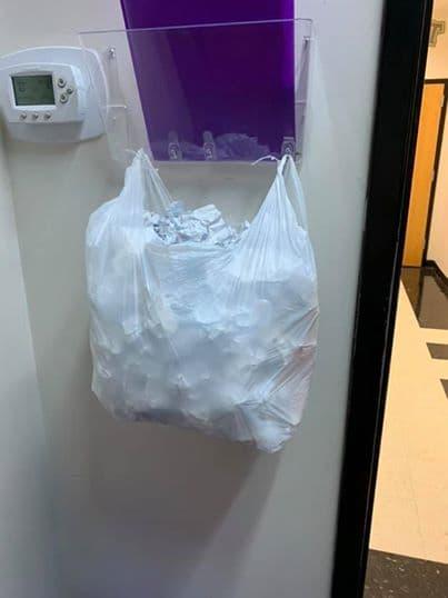 торба с бележки