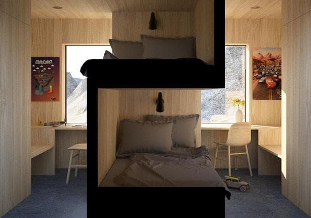 легло на две нива