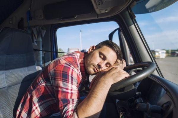 заспал шофьор