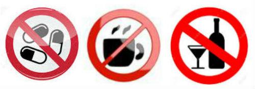Без алкохол и кофеин