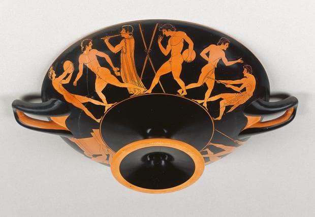 Гръцки червенофигурен съд