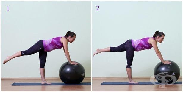 Упражнение за бременни с топка 17