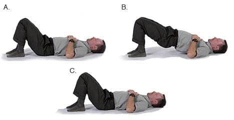 Упражнение - Повдигане на таза
