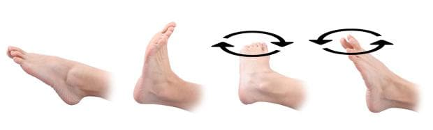 Упражнения при оток на краката