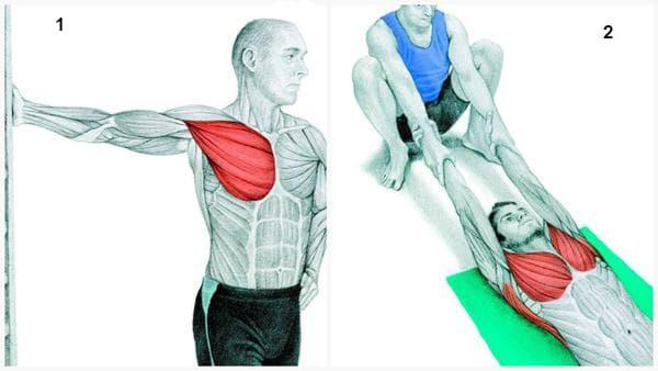Стречинг за гръдните мускули