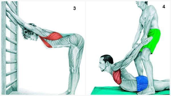 Стрчинг упражнения за мускулуте на гърдите