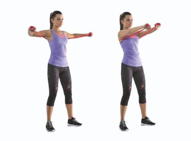 Упражнение с ластик