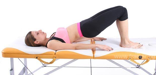 упражнение при радикулит и болки в кръста 5