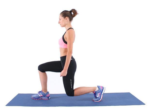 Упражнение за крака - напад