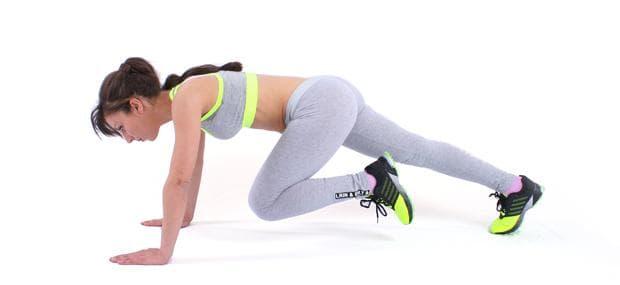 Упражнение Планинкси катерач