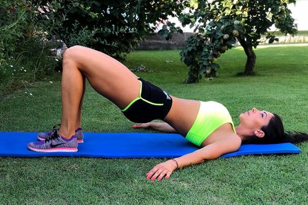 Упражнение при дискова херния 3