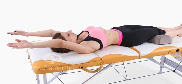 упражнение при радикулит и болки в кръста 2