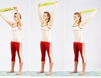 Упражнение с хавлия 1