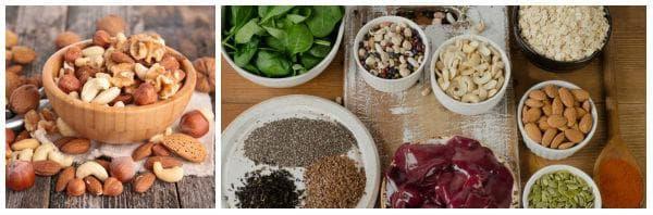 В кои храни се съдържа манган?