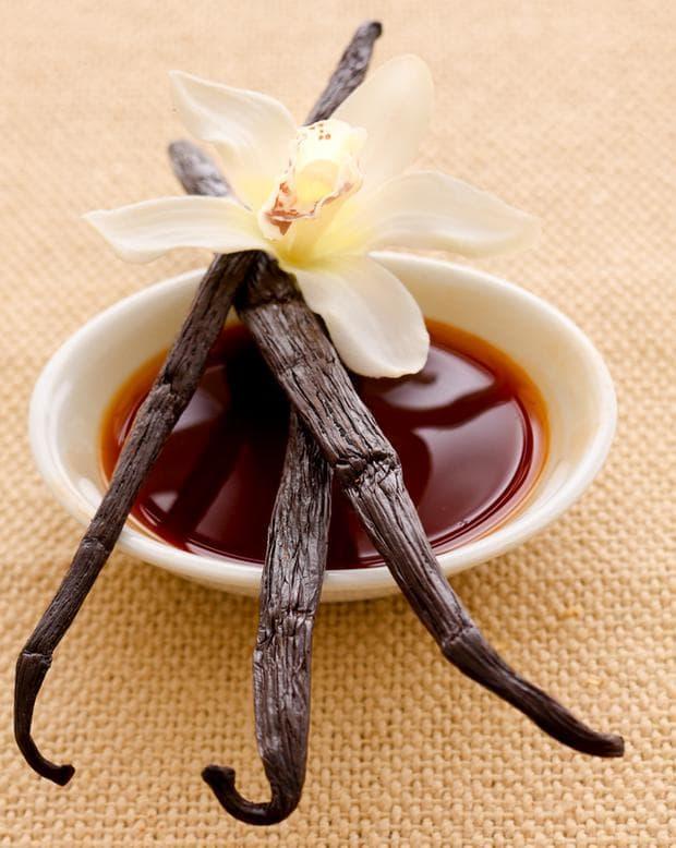 изсушени плодове от ванилия