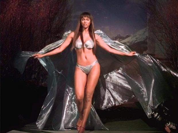 Тайра Банкс на ревю на Victoria's Secret