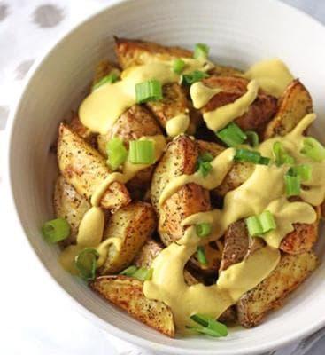 веган картофи
