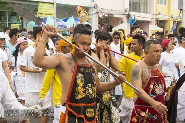 участник във фестивала в Тайланд