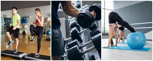 Видове физическа активност
