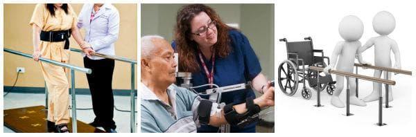 Видове рехабилитация - физикална терапия, психотерапия, трудова терапия
