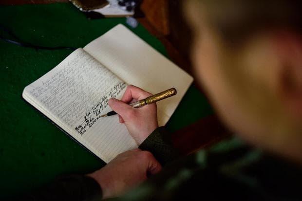 книга и писалка