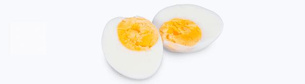 варени яйца срещу мускулна треска