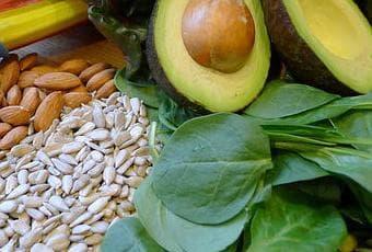 Хранителни източници на витамин Е