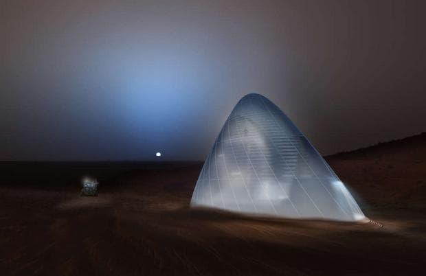 Хабитат на Марс