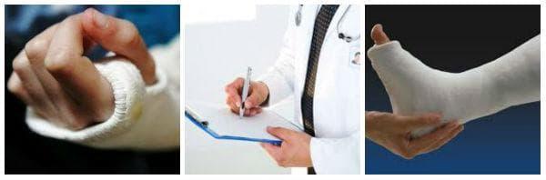 Възможни рискове и усложнения от лечението с гипсова превръзка