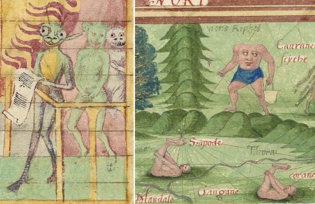 Гротеско от Средновековието
