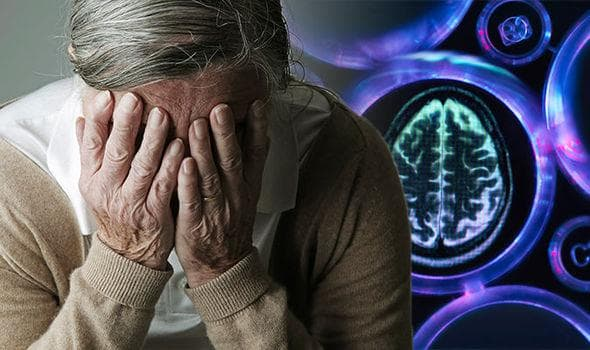 болен със съдова деменция