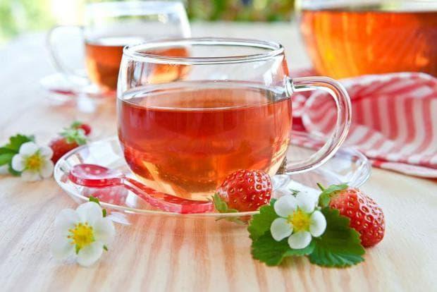 Чай ягоди
