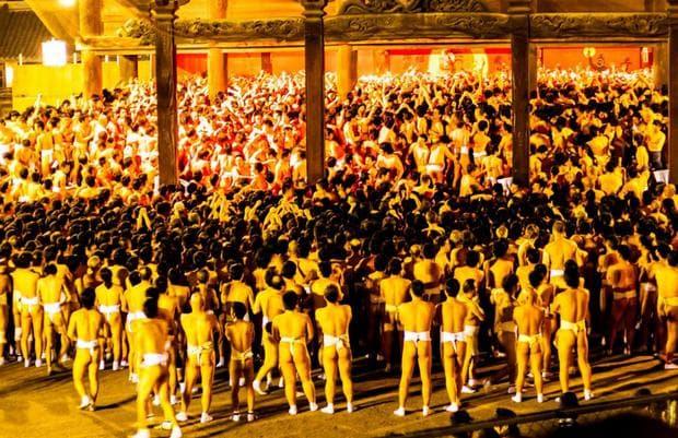 Фестивалът Хадака Матсури