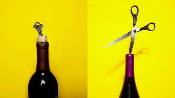 С ключ или ножица