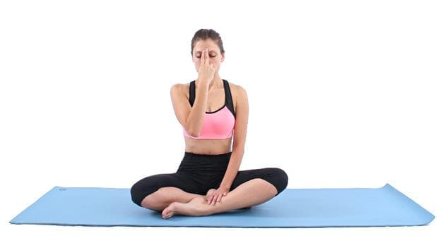Йога алтернативно дишане