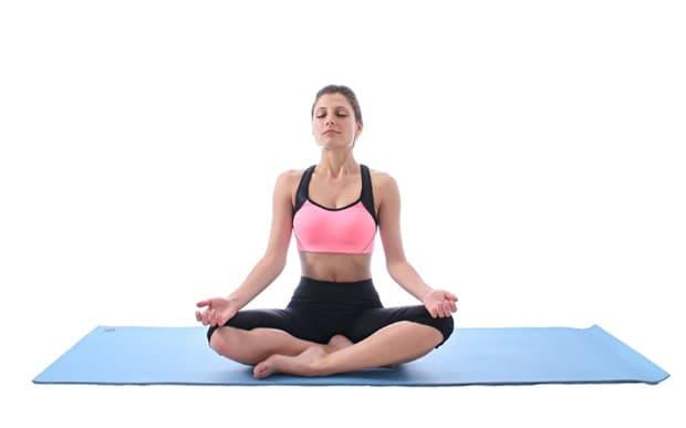 Лесна поза - йога