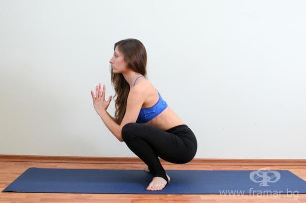 йога поза маласана