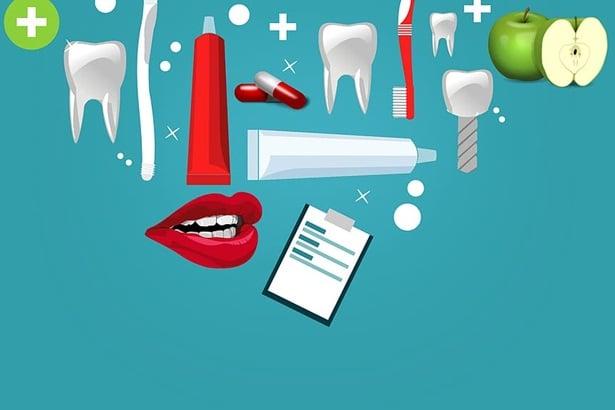 зъб,четка за зъби,паста,
