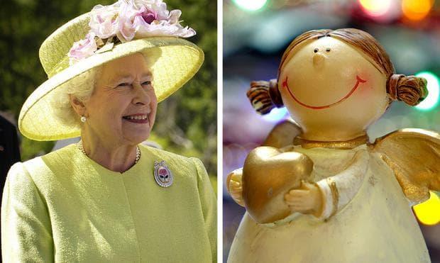 Кралицата и ангел