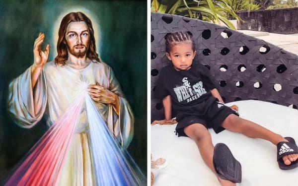 Исус Христос и дете